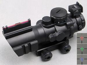 4X32-RGB-Tri-Illuminated-Compact-Scope-with-Red-Fiber-Optics-Sight-Etched-Glass