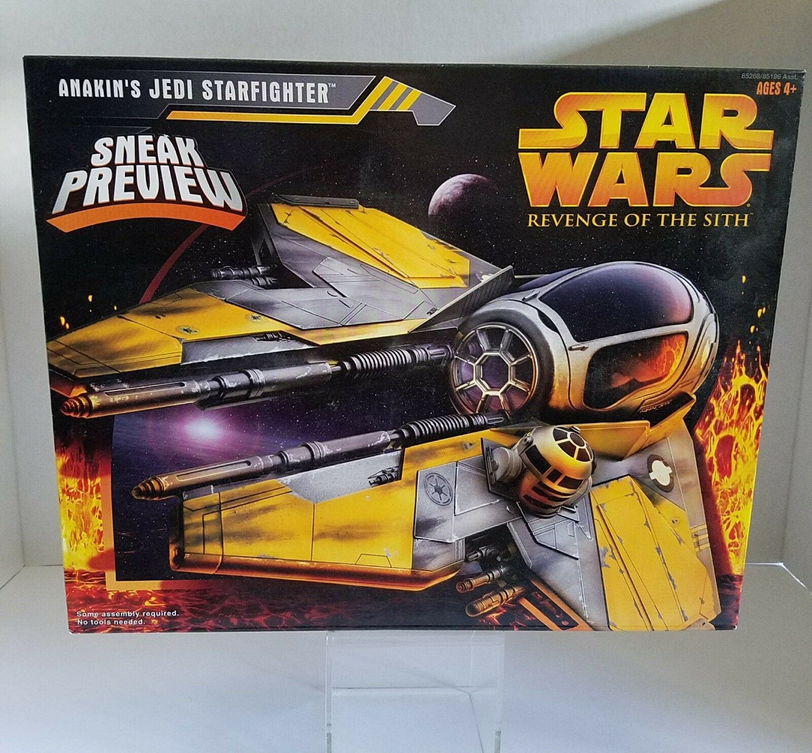 Hasbro 2005 Star Star Star Wars Anakin's Jedi Starfighter Collectible Action Figure de3845