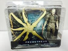 Neca Prometheus Battle Damaged Ingeniero vs. TRILOBITE Alien Figura de acción paquete de 2