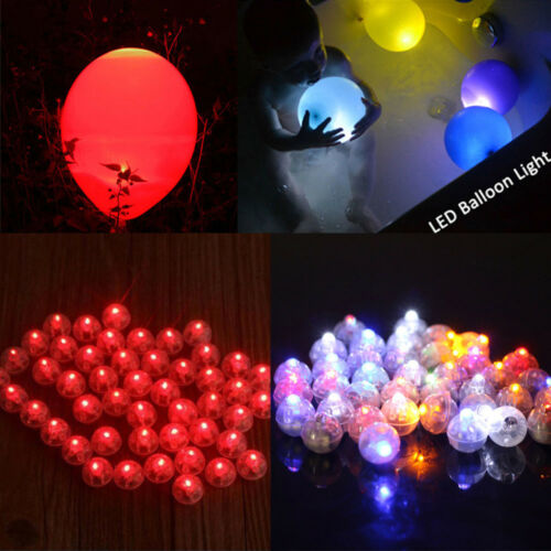 10xBattery Powered Mini LED Light Ball Glowing Garden Christmas Fairy Xmas Decor