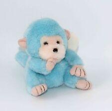 "Vintage Blue Baby Monkey Sucking Thumb Kawaii Japan Suction Cup 5.5"""
