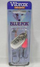 Blue Fox #5 Super Vibrax 7/16 Silver/Hot Pink Treble Troll Fishing Lure 13 grams