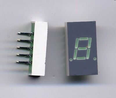 "Green 571nm  0.56/"" SEE PICTURE! LOT OF 4 x HP HDSP-5603 7-SEG/' LED DISPLAY"