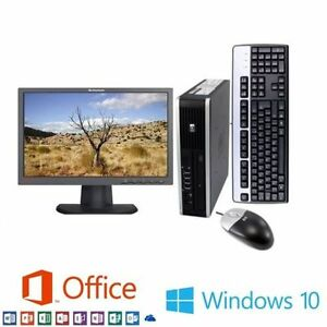 HP-Elite-UltraSlim-PC-Intel-i5-8GB-RAM-320GB-WiFi-With-22-034-FHD-LED-Monitor