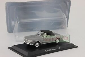 1/43 Scale FIAT 1500 Cabriolet 1963 Diecast