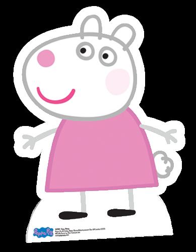 Cutouts--Peppa Pig - Suzy Sheep Cardboard Cutout