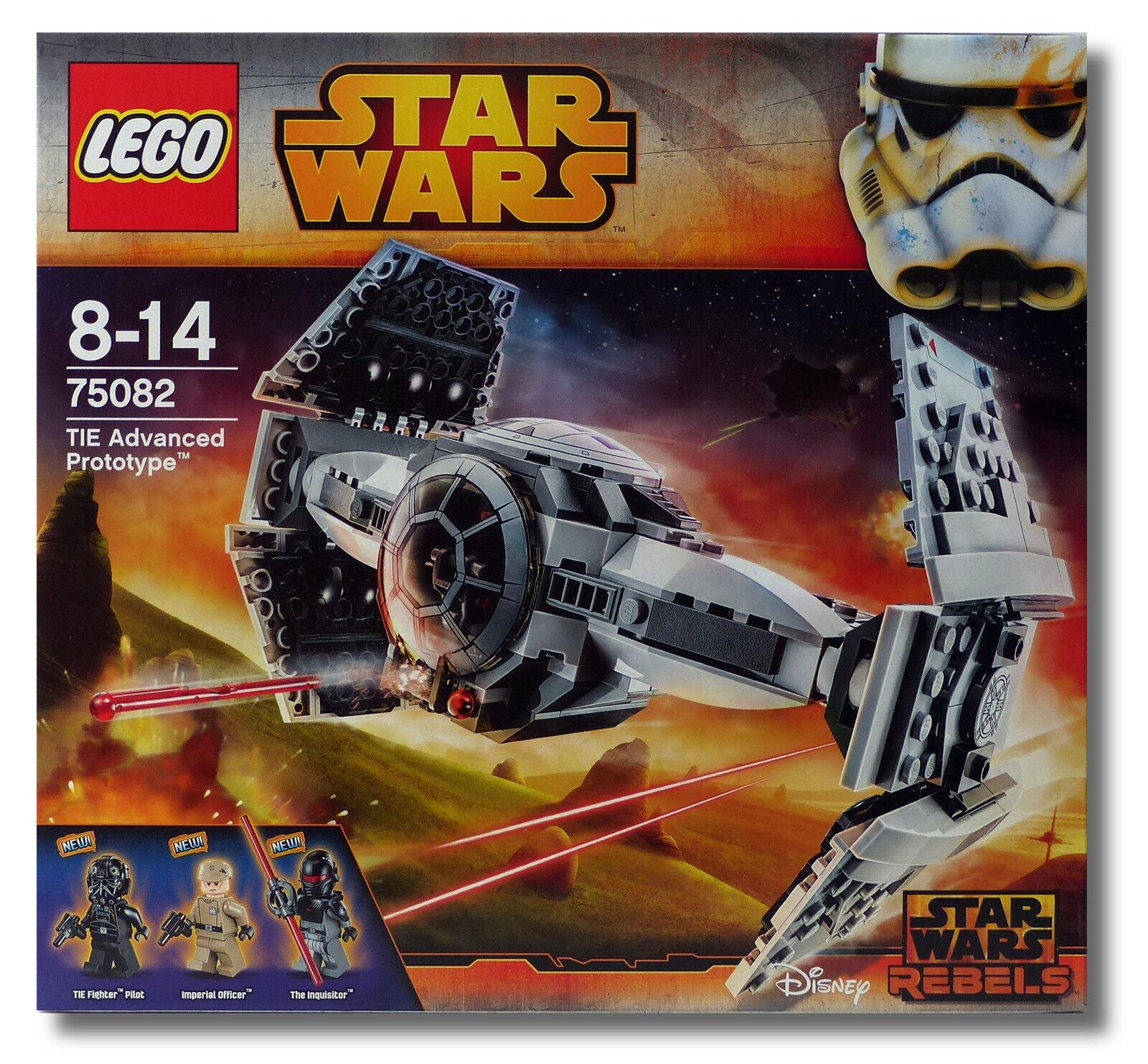 LEGO ® Star Wars ™ 75082 TIE Advanced Prototype ™ COLLECTORS 2015 Nuovo/Scatola Originale