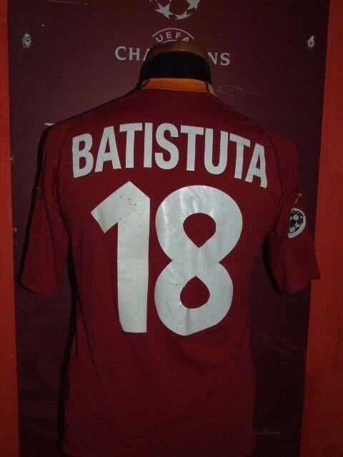 BATISTUTA ROMA 2000.2001 MAGLIA SHIRT CALCIO SOCCER FOOTBtutti JERSEY MAILLOT