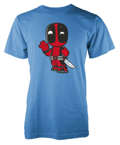Cute Deadpool Wade Wilson Funny adult t-shirt