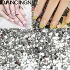 1000Pcs Nail Art Rhinestone Crystal Bead Gem 1.5mm Acrylic Flat back Diamante