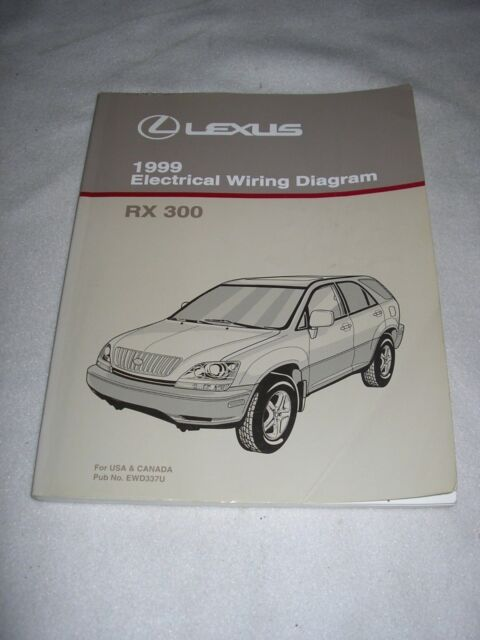 1999 Lexus Rx 300 Wiring Diagram Manual Rx300 Original