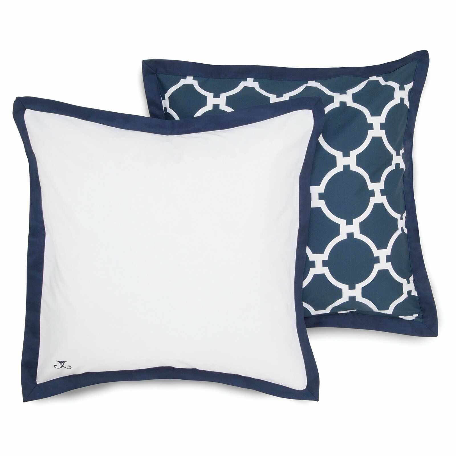 Hampton Links Navy Pillow