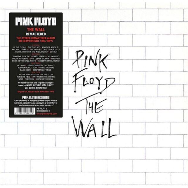 Pink Floyd The Wall Vinyl LP Brand New 2016