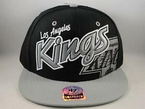 brand new 073e3 4126a Image is loading Los-Angeles-Kings-NHL-Snapback-Cap-Hat-47-