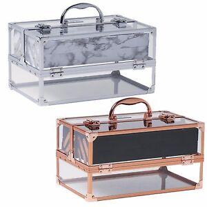 Beautify Large Acrylic Vanity Make Up Beauty Box Cosmetics