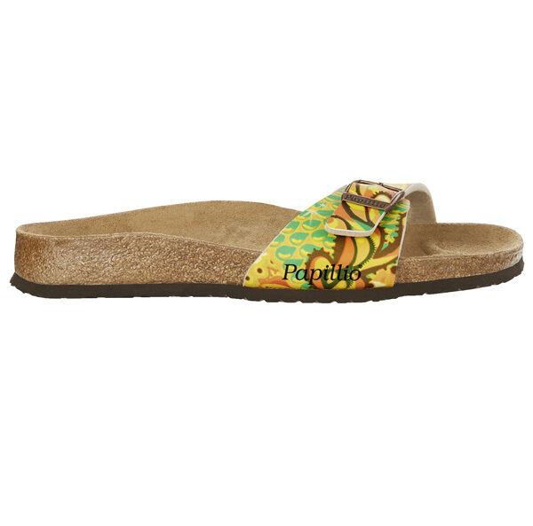 Birkenstock Schuhe Papillio Madrid Birko-Flor Damen Schuhe Birkenstock Sandale 1004254 Weite schmal 6b6ae8