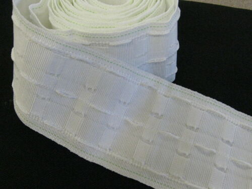 20 METRES 3 INCH PENCIL PLEAT CURTAIN TAPE WOVEN POCKETS TOP QUALITY EVANS