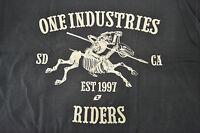 One Industries Muerto Mx Atv Bmx Casual Wear Mens Medium M Tee Shirt T Shirt