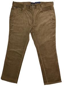 Para Hombres Polo Ralph Lauren Marron Bronceado Camel Pantalones De Pana 46x30 46 Nuevo Con Etiquetas Nuevo Wow Ebay