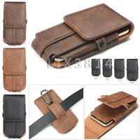 Universal Waist Bag Men Belt Sleeve Fanny Pack Card Slot Pouch Phone Pocket Case