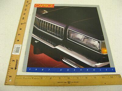 1987 87 Chevrolet Chevy Spectrum Sales Brochure Literature Catalog 16 Pages