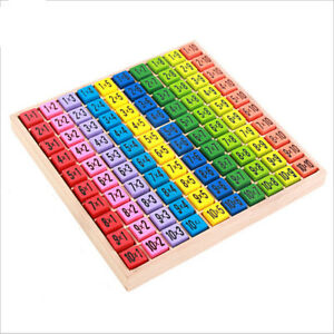 Children-Wooden-Toys-99-Multiplication-Table-Math-Toy-10-10-Figure-KM-TD