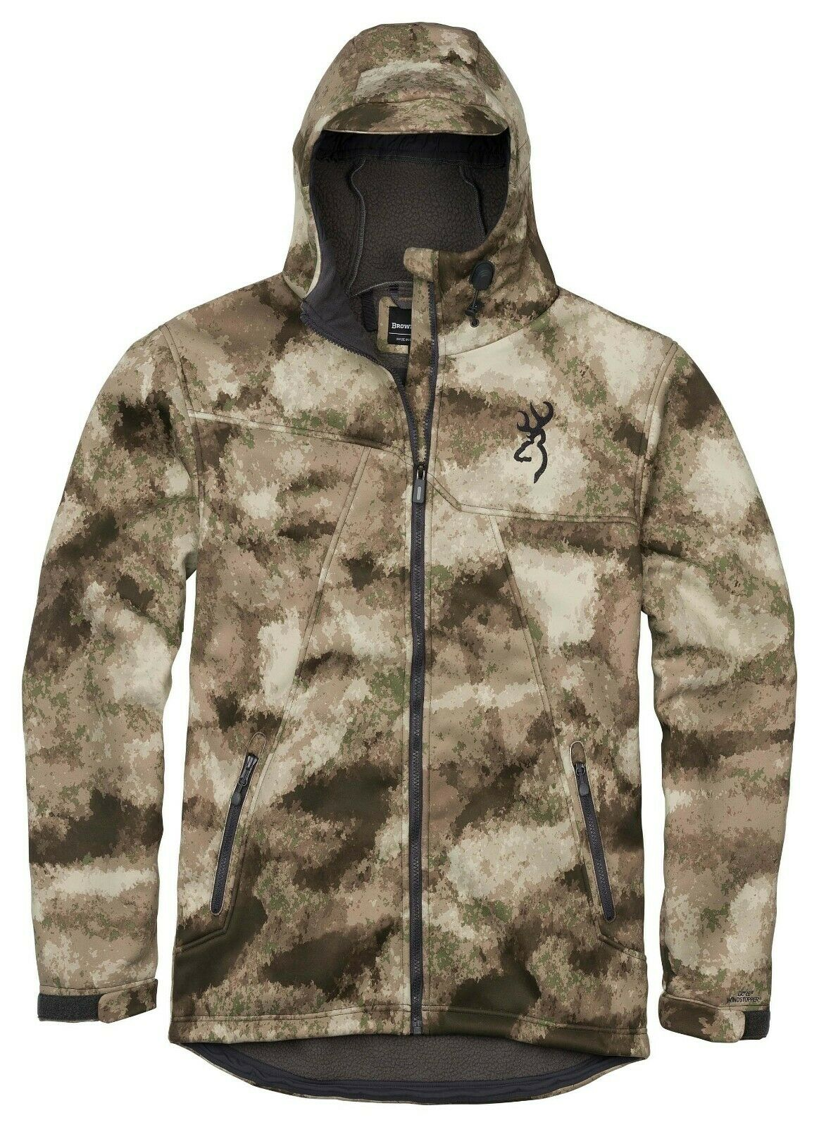 brauning Hell's Canyon Vitesse Hellfire-Fm Isolé Gore Coupe-Vent Veste