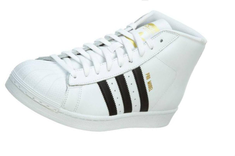 Hombres Adidas Pro Model Blanco FTW blanco / CORE negro / blanco FTW running FTW s85956 liquidación de temporada 4bd253