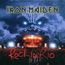"""IRON MAIDEN """"ROCK IN RIO"""" 2 CD SPECIAL ENHANCED NEUWARE"""