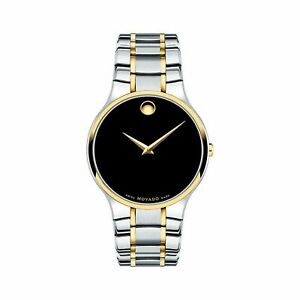 Movado 0607284 Men's Serio Black Quartz Watch