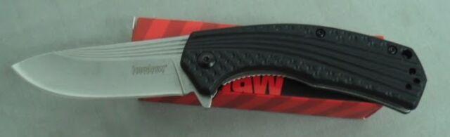 KERSHAW KNIFE 8600 PORTAL ASSISTED FOLDER STONEWASHED FINISH NEW IN BOX