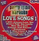 Party Tyme Karaoke Love Songs Vol. 1 by Sybersound