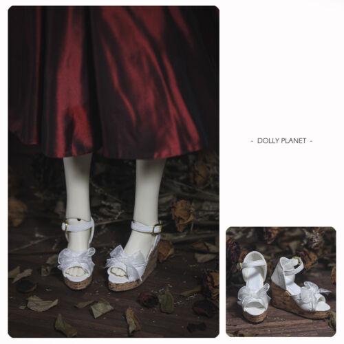 1//3,1//4 BJD Doll shoes White SD MSD SH-05 dolly planet