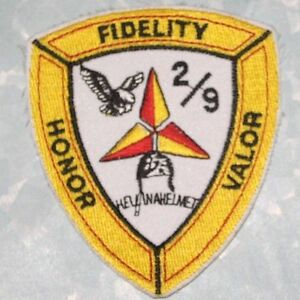 Marine-Fidelity-Honor-Valor-Patch-Hell-in-a-Helmet-2-7-8-034-x-3-1-4-034