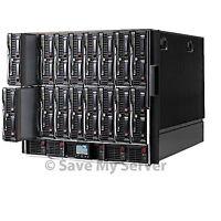 HP C7000 Blade Enclosure 12x BL460c G1 Blade Server 2x3.0GHz Dual Core 16GB Tray