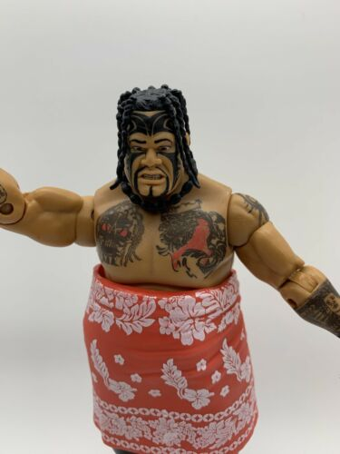 WWE Umaga Mattel Elite Wrestling Action Figure Series 40 Flashback