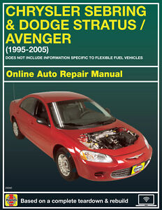 2001 chrysler sebring haynes online repair manual select access ebay rh ebay com 2001 chrysler sebring owners manual pdf 2001 chrysler sebring convertible owners manual