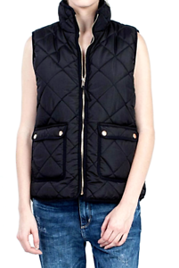 Quilted Puffer Anthropologie Black Zeldzaam Nwt New Diamond Vest Lightweight 88 xBYnn6