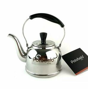 Romote Glass Tea Pot alta borosilicato Tetera con acero inoxidable 304 Infuser Perfecto