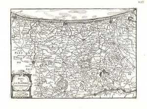 Antique-map-Partie-de-la-Flandre-Occidentale
