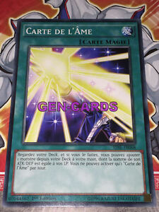 Carte Yu Gi Oh CARTE DE L/'AME TDIL-FR068