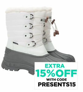 Mountain Warehouse Whistler Womens Snow Boots Winter Walking Snowproof Ladies