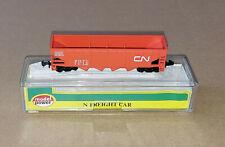 N Scale Model Power 3475 CN CANADIAN NATIONAL 4-Bay Hopper Car #330249