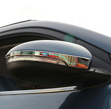 FIT FOR 16- HYUNDAI TUCSON REAR VIEW SIDE MIRROR CHROME COVER TRIM LID PROTECTOR