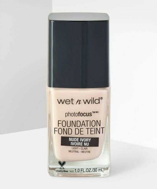 Wet N Wild Photo Focus Foundation Nude Ivory Reviews