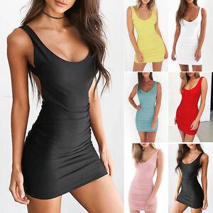 Das Bild wird geladen Minikleid-kleider-Rueckenfrei-Partykleid-Kleid-Mini- Damen-Abendkleid- 04a39025cb
