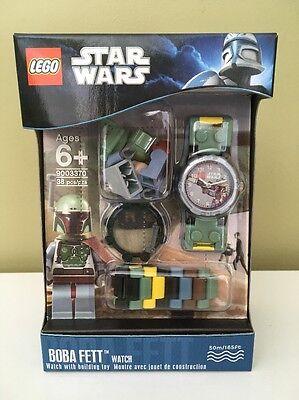 LEGO 9003370 Star Wars Boba Fett Wristwatch Minifigure NEW