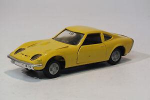 GAMA-1-43-Opel-GT-1972-Giallo-Modellino-Auto-1799007-conf-orig