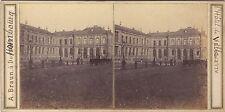 Homburg Hombourg Allemagne A. Braun Stéréo Vintage Albumine ca 1860