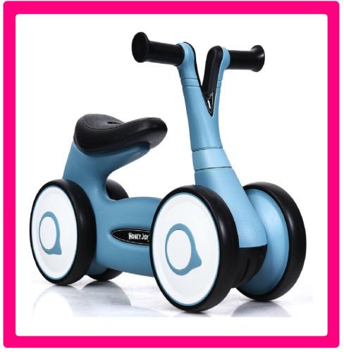 Baby Balance pré Vélo Formation 4 ROUES Walker No-Pédale Jouets Rides Cadeau Enfants